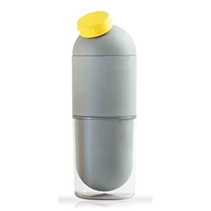 ff2bc44ebc Amazon.com | Ecojun Public Capsule Water Bottle Tumbler 490ml Blue ...