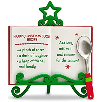 "Hallmark Keepsake ""Happy Christmas Recipe"" Holiday Ornament"