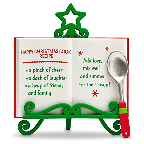 Hallmark Keepsake quotHappy Christmas Recipequot Holiday Ornament