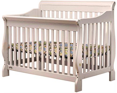 DaVinci Emily 2-in-1 Mini Crib and Twin Bed in Espresso Finish (Emily Convertible Crib)