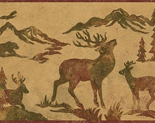 Lodge D�cor Tin Silhouette OA8155B Wallpaper Border