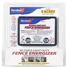Fi-Shock SS-725CS AC Powered Light-Duty Electric Fence Energizer 5-Acre Range