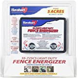 Fi-Shock SS-725CS AC Powered Light-Duty Electric Fence Charger, 5-Acre Range