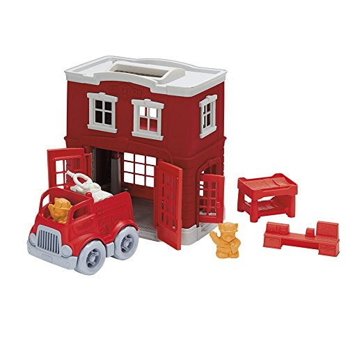 Playset Fire (Green Toys Fire Station Playset)