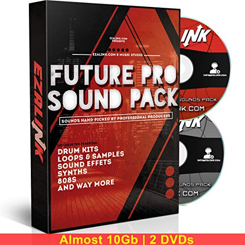 Music Sound Pack: Samples, 808s, Drum Kit, Loops – Zaytoven Hip Hop EDM for Beat Maker MPC FL Studio Logic 10Gb w/ Free…