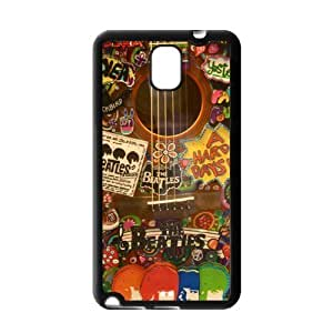 Fashion The Beatles Protective Hard Durable Rubber Coated Case Cover for Samsung Galaxy Note 3