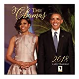 """African American Expressions - 2018 The Obamas 16 Month Calendar (12"""" x 12"""") WC-160"""