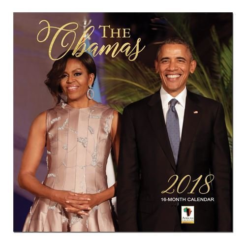 "Office Products : African American Expressions - 2018 The Obamas 16 Month Calendar (12"" x 12"") WC-160"