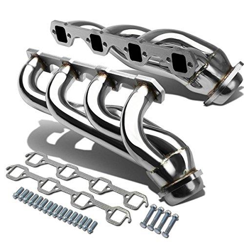 (For 79-93 Ford Mustang 4-1 Design 2-PC Stainless Steel Exhaust Header Kit - 5.0L)