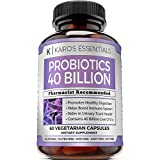 Dr Formulated Adult Probiotics Supplement - 40 Billion CFUs Daily Probiotic for Men and Women - 4 Strain Advanced Oral Flora Probiotic with Acidophilus, Lactobacillus, and Prebiotic Fiber
