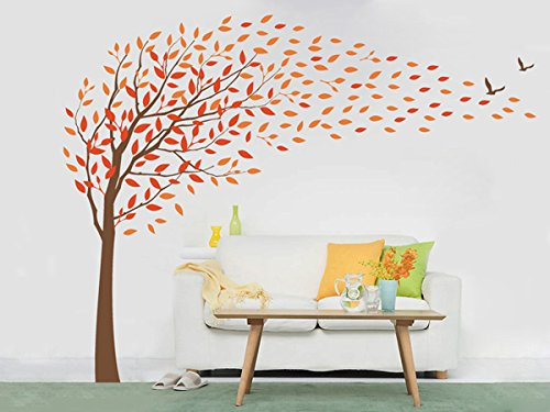 Pop DecorsFlying in the wind Beautiful Wall Stickers for Kids Rooms PT-0135-Vb