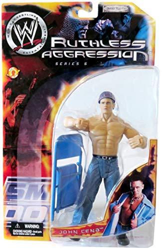Jakks Pacific WWE Wrestling Ruthless Aggression Series 5 John Cena Action Figure