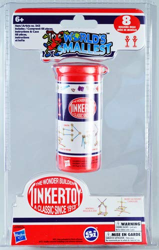 World's Smallest Tinker Toys from Worlds Smallest