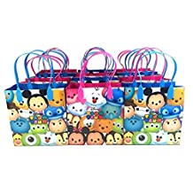 Disney Tsum Tsum Small Reusable Party Favors Goodie Gift Bags ( 12 Bags) by Disney