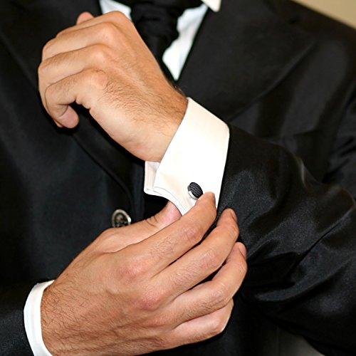 Tuxedo cufflinks and shirt studs marvelous men 39 s fashion for Tuxedo shirt no studs