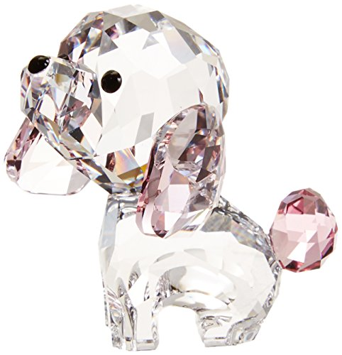 Swarovski Puppy Figurine, Rosie The - Poodle Crystal