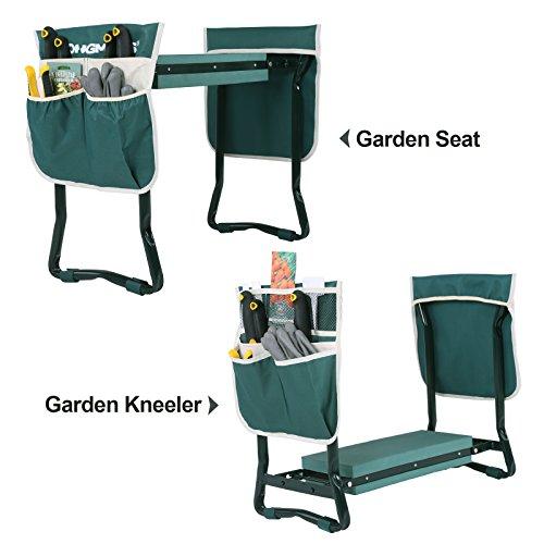 Review SONGMICS Folding Garden Kneeler