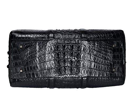 grande marrone da portatile di in giro capacità viaggio marrone da per pelle Fzyqy borsa Borsa coccodrillo uomini portare in di 7HnSw4d4q