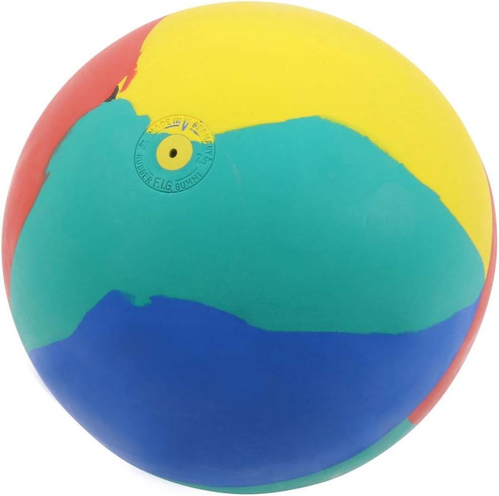 500 g Pallone da calcio WV con campanelli 21 cm rosso