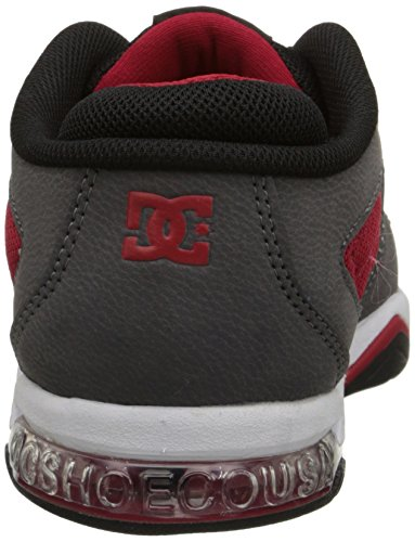 DC Skateboard Shoes RYAN VILLOPOTO GREY/BLACK/RED
