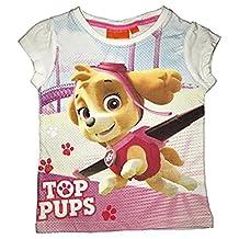 Paw Patrol Girls 100% Cotton Half Sleeve Tshirt / Tees