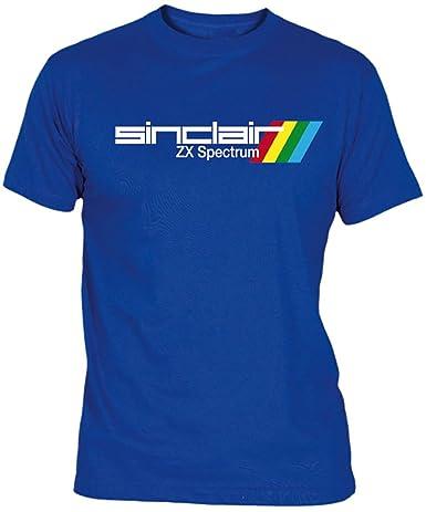 Desconocido Camiseta Sinclair ZX Spectrum Adulto/niño EGB ochenteras 80Žs Retro: Amazon.es: Ropa y accesorios