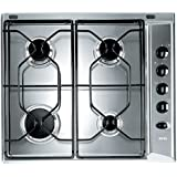 Ignis AKL 710/IX built-in Gas Stainless steel - Hobs (Built-in, Gas, Stainless steel, Rotary, 580 mm, 500 mm)