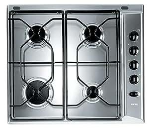 Ignis AKL 710/IX - Placa (Integrado, Gas, Acero inoxidable, Giratorio)