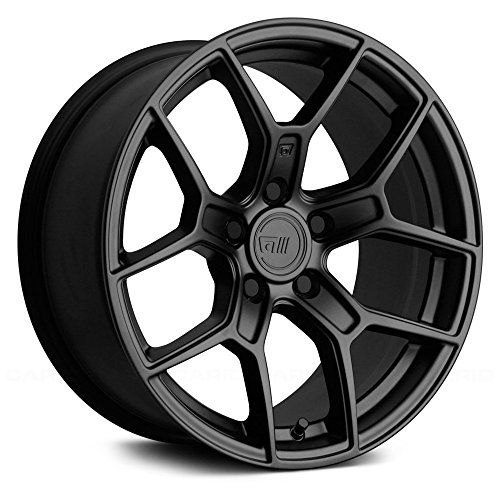 (MOTEGI RACING Custom Wheel Rim MR133 Satin Black (17