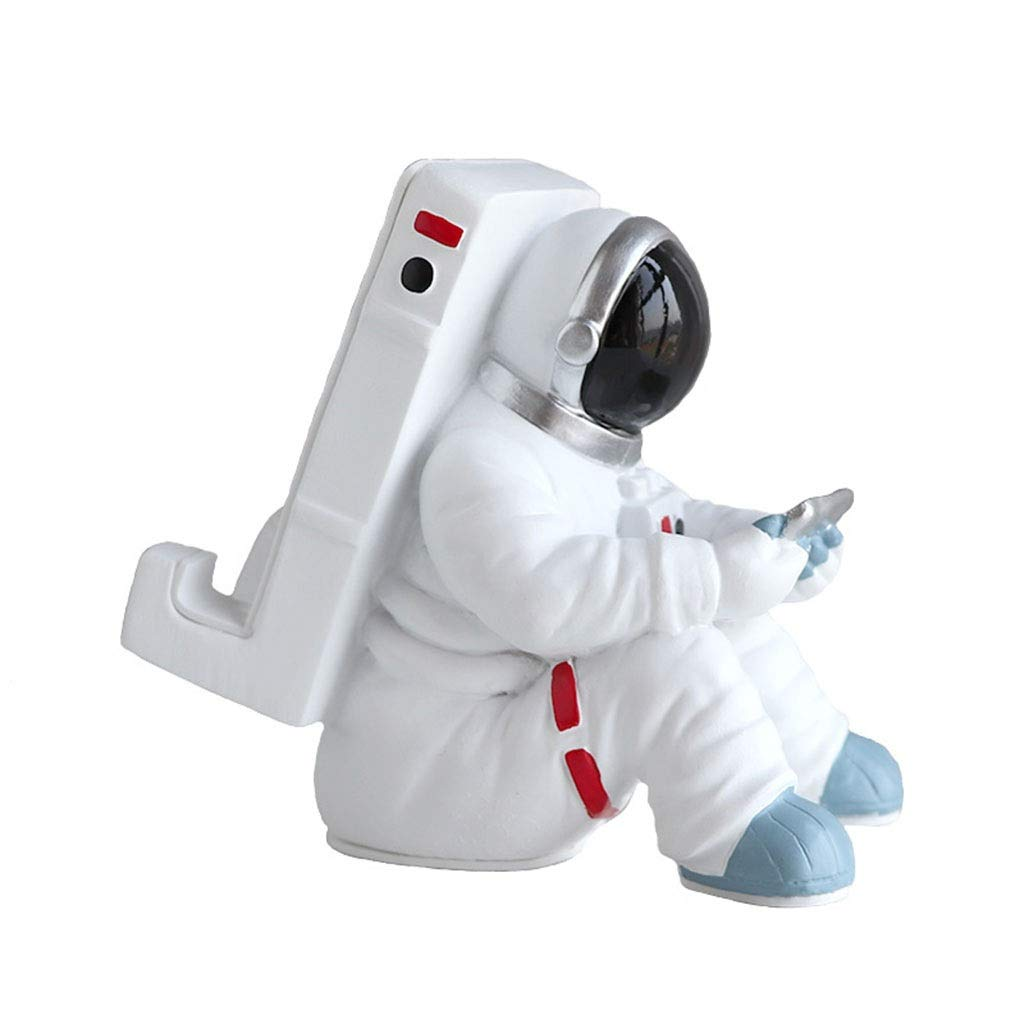 SBKD Cell Phone Holder Astronaut Spaceman Apple IPad Tablet Stand Portable Lazy Creative Phone Stand Personality Gift (Color : A) by SBKD