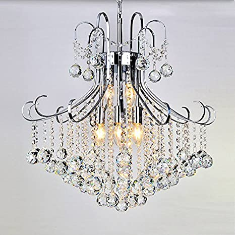 ACZZ Modern Luxury Luxury Raindrops K9 Crystal Chandeliers ...