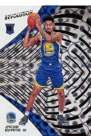 2018-19 Panini Revolution Groove Basketball  129 Jacob Evans III Golden  State Warriors Rookie 2e54a2085