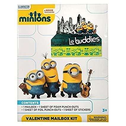 Minions Valentines Exchange Mailbox Kit by Illumination ...