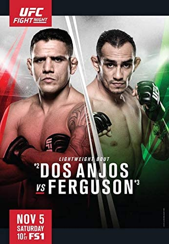 Ufc Fight Night 98 Dos Anjos Vs Ferguson Wall Poster Print 30 Cm X 43 Cm Brand New Amazon De Kuche Haushalt