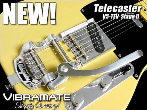 Vibramate V5 Montage BIGSBY B5 TELECASTER Amerikanisch Serien Ohne Bohrung