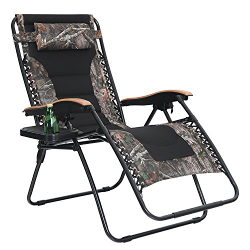 Best Choice Products 2 Person Double Wide Folding Zero Gravity Chair Patio Lounger W