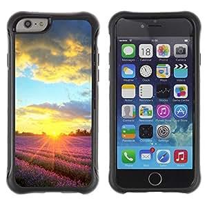 LASTONE PHONE CASE / Suave Silicona Caso Carcasa de Caucho Funda para Apple Iphone 6 PLUS 5.5 / Sunset Beautiful Nature 90