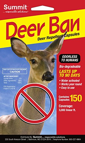 Summit...responsible solutions 150 Count Deer Ban Repellent Capsules ()