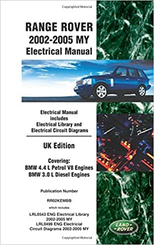 Book Range Rover 2002-2005 My Electrical Manual Uk Edition by Brooklands Books Ltd (Illustrated, 1 Oct 2010)