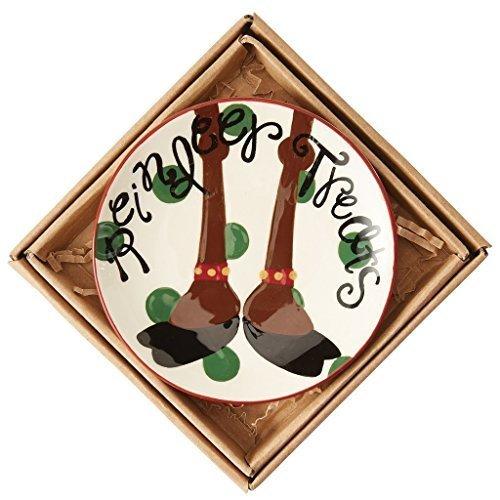 Mudpie Christmas Small Plates (Reindeer)