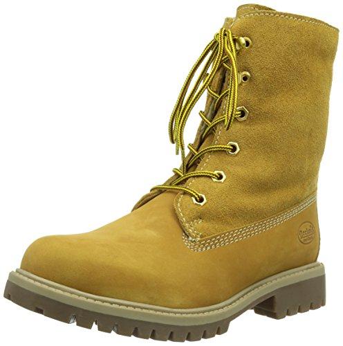 Dockers by Gerli 358400-031093, Unisex-Kinder Combat Boots, Beige (golden tan 093), 37 EU