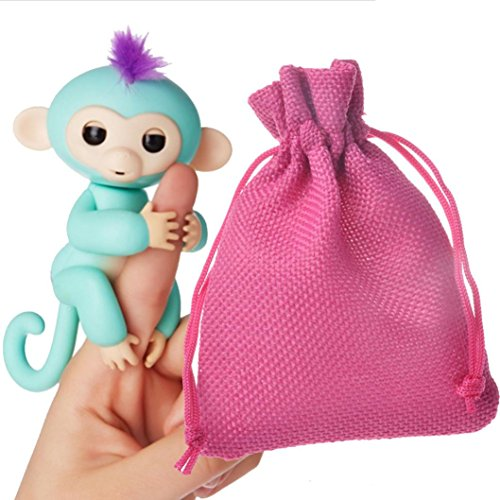 Price comparison product image Mchoice For Interactive Baby Monkey, Dolls Portable Kids Play Storage Bag Toys Rug Box (Red)