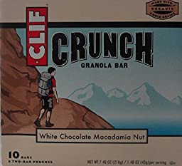 Clif Bar Grnla Crnch Wht Choc Mac 5