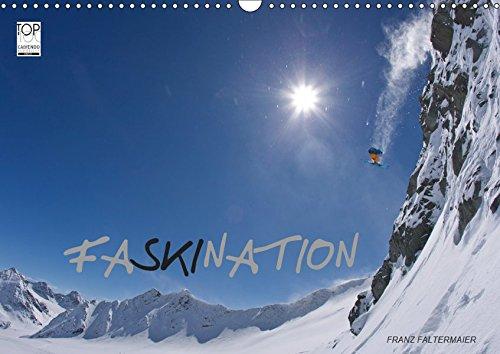 Faskination  Wandkalender 2019 DIN A3 Quer   Faszinierende Skimotive Meiner Letzten Skireisen  Monatskalender 14 Seiten    CALVENDO Sport