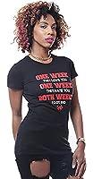 Cupcake Mafia Women's One Week Graphic T-Shirt