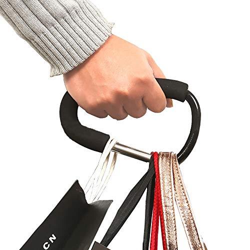 Buggy Clip Baby Pram Pushchair Stroller Shopping Mummy Hook Carabiner (Black)