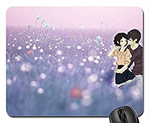 Sweet Couple Mouse Pad, Mousepad (10.2 x 8.3 x 0.12 inches)