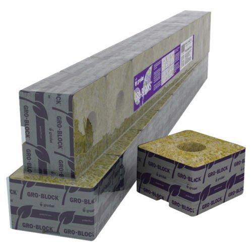 Grodan Delta 4 Mini Block 3 x 3 x 2.5 No Hole Case of 384