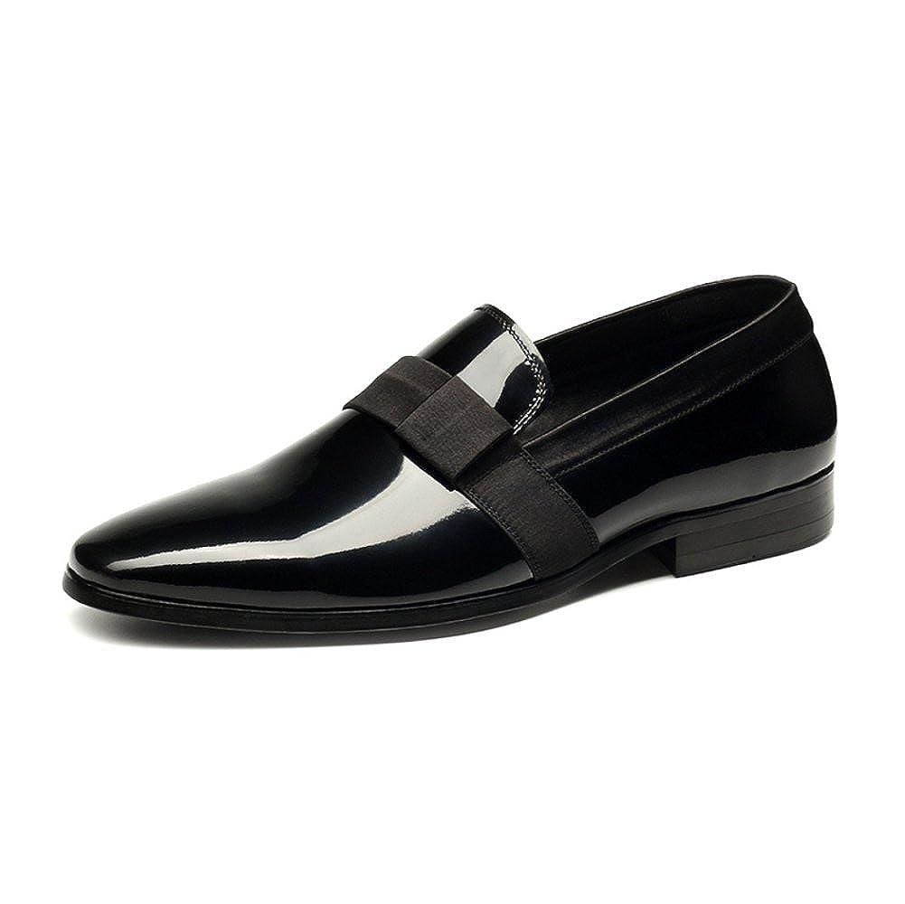 ZPEDY Lederschuhe Jugend Männer Freizeit Faul Schuhe British Spitz Schuhe