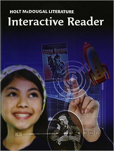 Holt mcdougal literature interactive reader grade 7 holt holt mcdougal literature interactive reader grade 7 1st edition fandeluxe Images